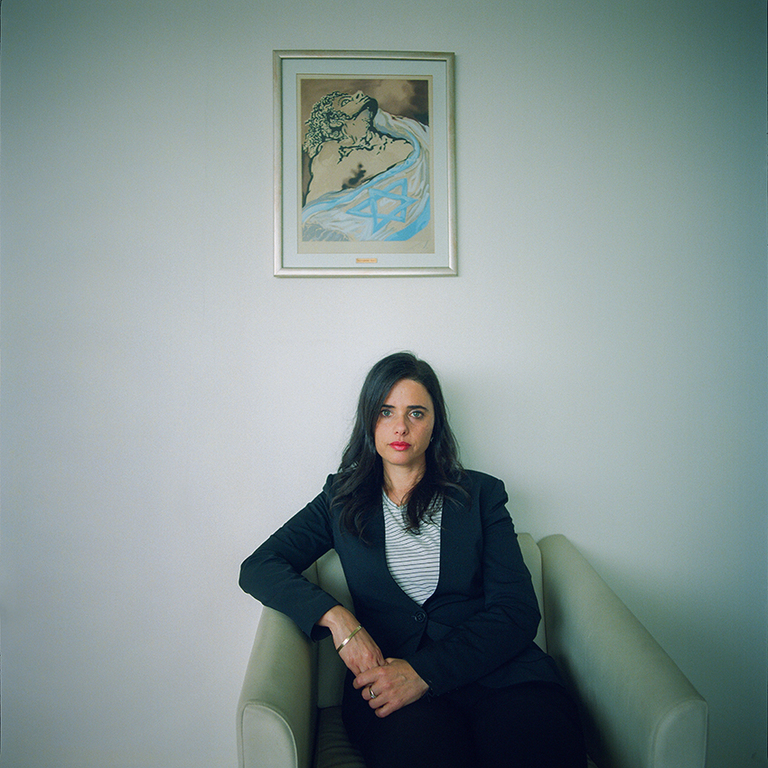 Ayelet Shaked for Le Monde