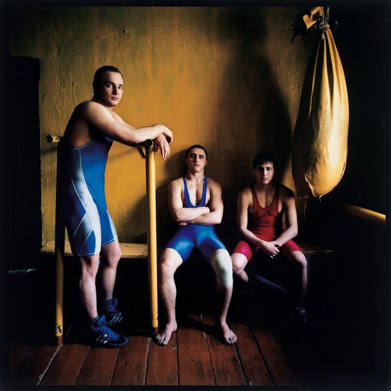 Three Wrestlers, Russia 2007