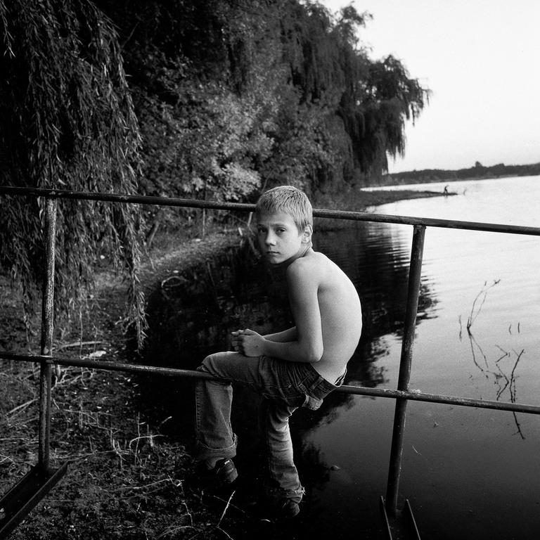 An Orphan Boy, Ukraine 2005