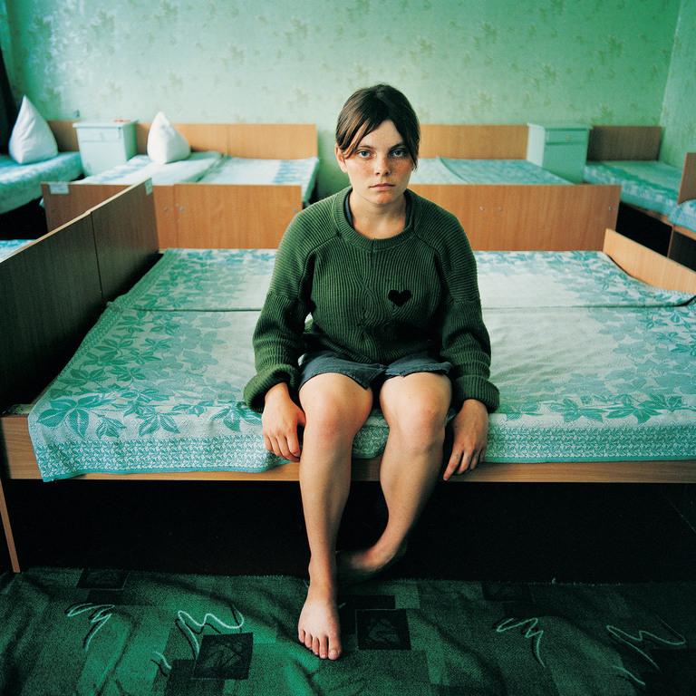 Black Heart (Katya, Sentenced for Theft),  Juvenile prison for girls, Ukraine 2009
