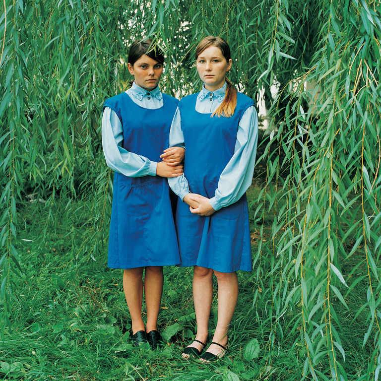 Katya &  Dasha- Sisters, Sentenced for Theft (Caught stealing together with their parents), Juvenile Prison for Girls, Ukraine 2009