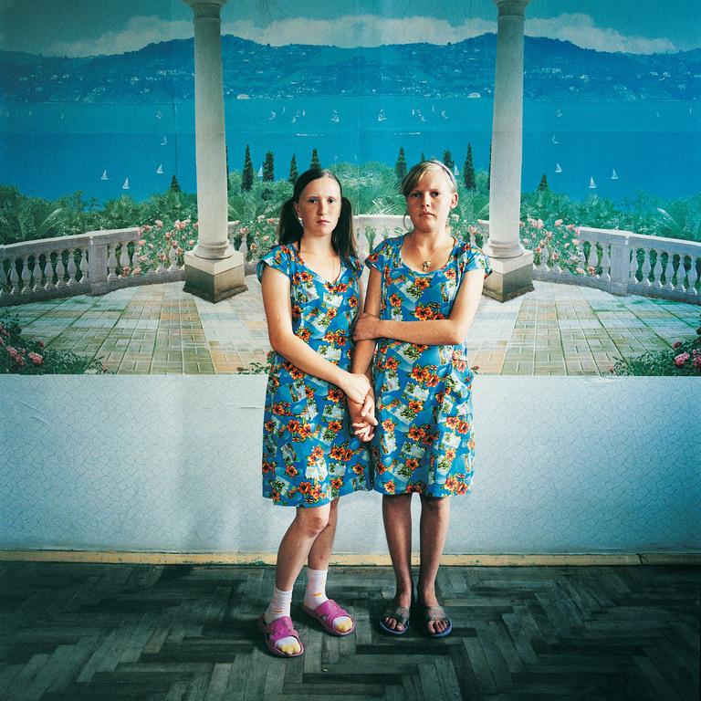 Masha and Sveta, Juvenile Prison for Girls, Ukraine 2009. Masha (on left) Sentenced for Violence. Sveta Sentenced for  theft