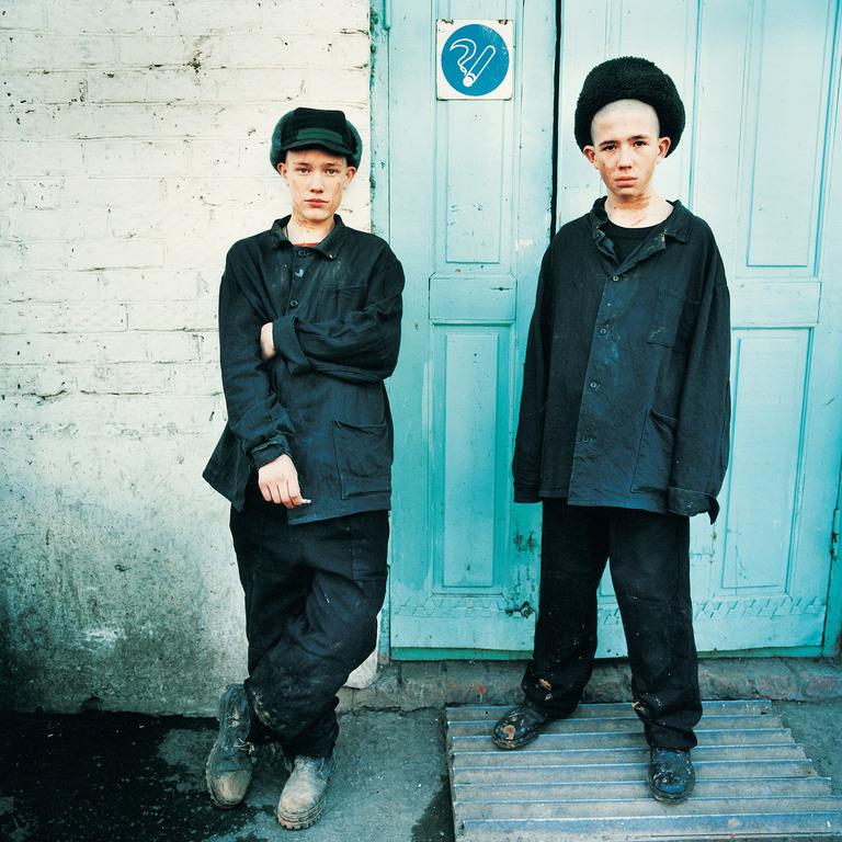 Smoking Zone, Juvenile Prison for Boys, Russia 2009